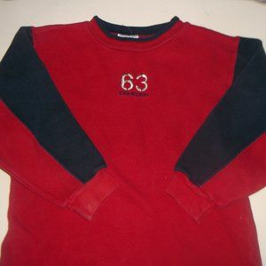 OSH KOSH Red Blue Sweater Size 3